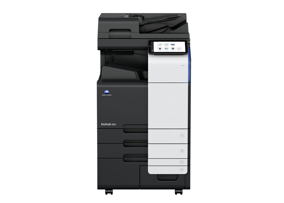 bizhub 360i A3 printer front view
