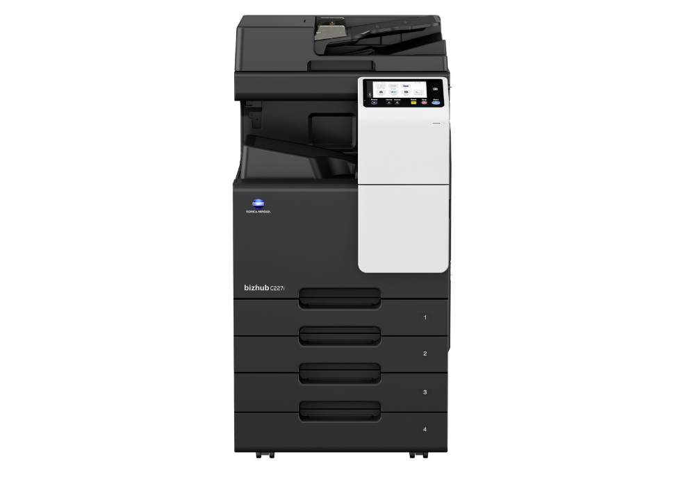 bizhub C227i A3 Printer front view