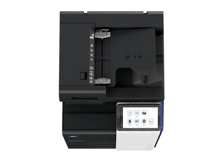 bizhub 360i A3 printer top view