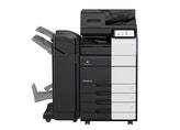 bizhub 450i A3 monochrome front product view with options
