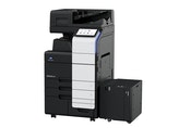 bizhub 450i A3 monochrome front product side view with options