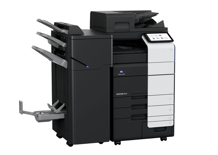 bizhub 450i A3 monochrome office multifunction printer
