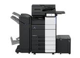 bizhub 550i A3 Monochrome Printer product view with options