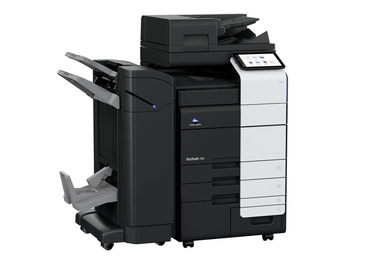 bizhub 750i A3 printer front view