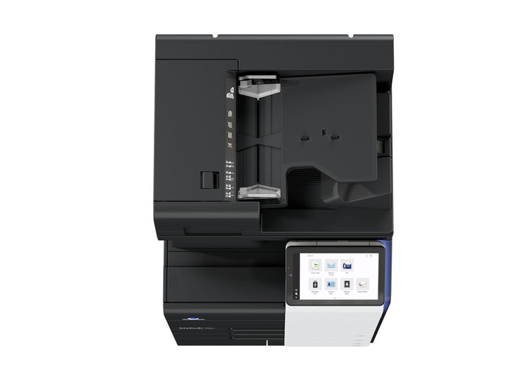 bizhub 750i A3 printer side view