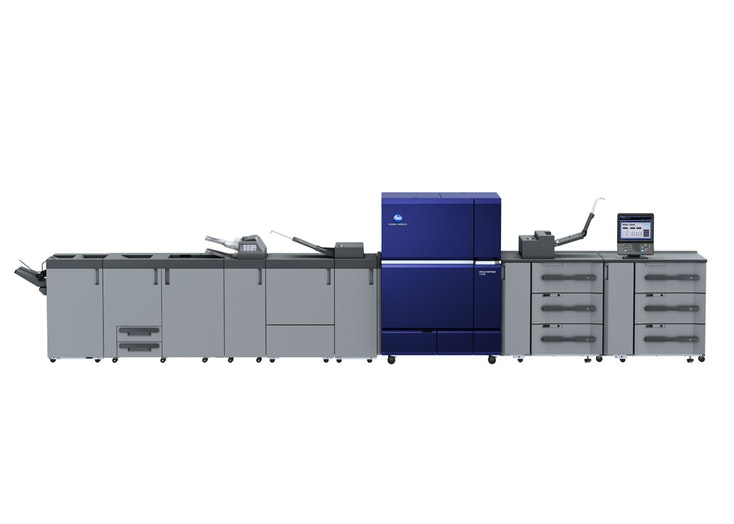 AccurioPress C12000 configuration option