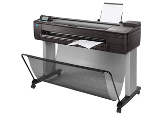 HP DesignJet T730 Printer side view