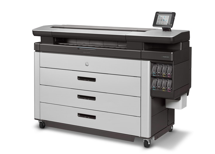HP PageWide XL 8000 side product view