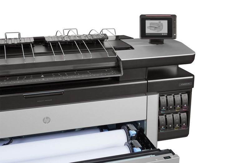 HP PageWide XL 5100 MultiFunction Printer draw